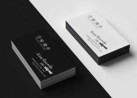 kirai records 名刺デザイン