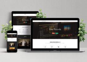 kirai records webサイト
