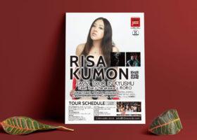 RISA KUMON フライヤーデザイン