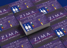 ZIMA 販促カード